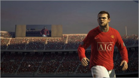Latest screenshots have been released from EA for FIFA 09